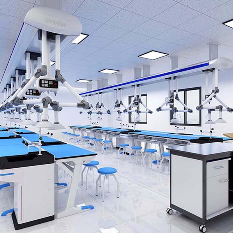 化学顶装系统实验室